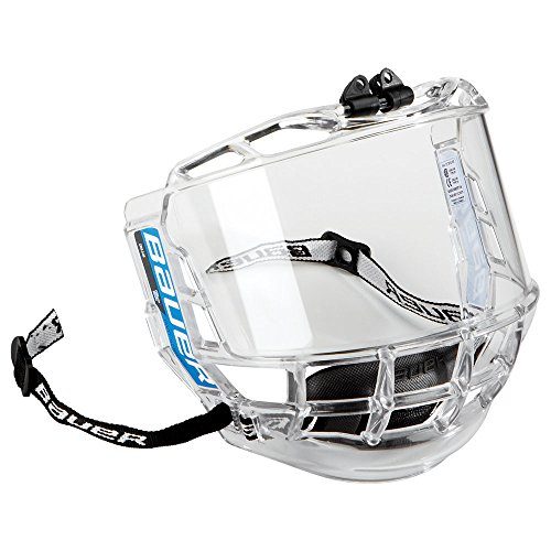 Bauer-1041010-Visire-intgrale-pour-casque-de-hockey-sur-glace-Concept-III-pour-adulte-Transparent-Taille-unique