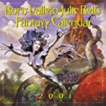 Boris Vallejo and Julie Bell's Fantasy Calendar: 2001