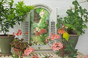 Wall Mirror With Shutters by Crocus