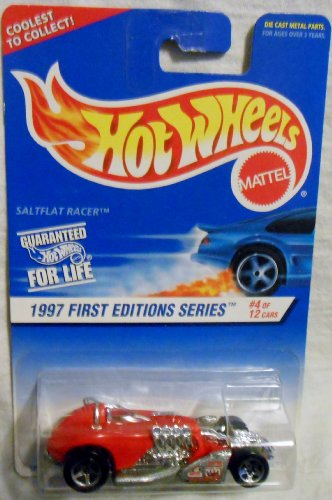Mattel Hot Wheels #520 Saltflat Racer 1997 First Editions Series #4 of 12