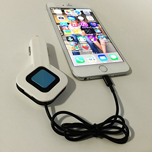 OneKubedDESIGNS O3-C8 3 in 1 USB Car Charger