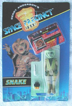 Snake Action Figure - Gerry Anderson's Space Precinct