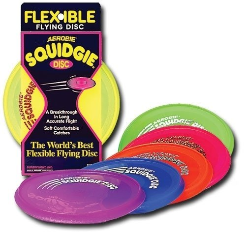 Aerobie Squidgie Disc (Set of 4 Assorted Colors) remasters box 4 compact disc set cd