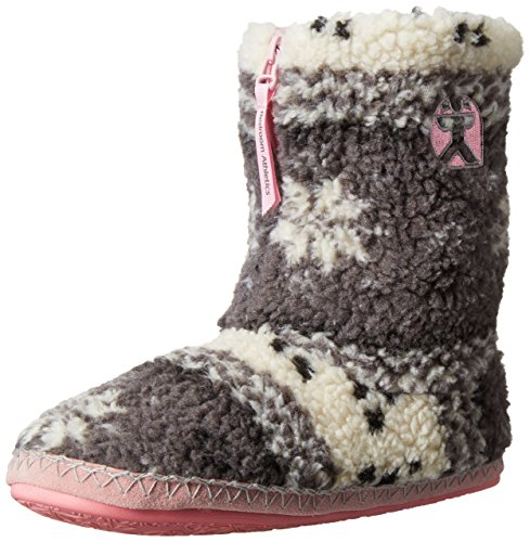 Bedroom AthleticsJessica - Pantofole uomo , Multicolore (Multicolor (Grey/Soft Pink)), S