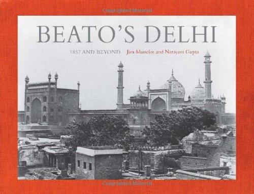 Beato's Delhi: 1857 and Beyond, by Jim Masselos and Narayani Gupta