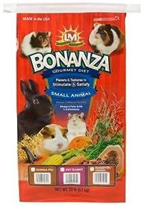 Bonanza Gourmet Diet For Pet Rabbits 20 Lb