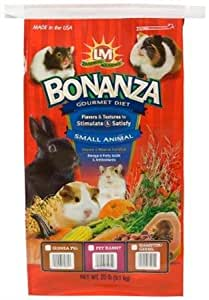 Bonanza Gourmet Diet For Pet Rabbits 20 Lb