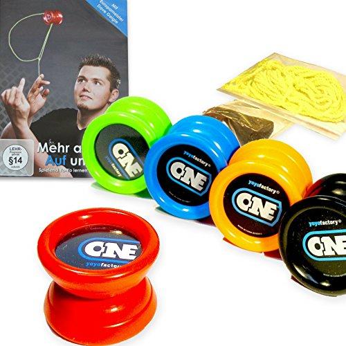 yoyo-einsteiger-set-1x-yoyo-one-1x-jojo-trick-lern-dvd-1x-fingerprotector-7-yo-yo-ersatzschnure-rot