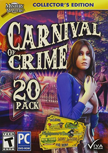 Viva Media Mystery Masters: Carnival of Crime Collector's Edition, 20 Pack (Windows 8 Video Games compare prices)