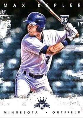 2016 Panini Diamond Kings #167 Max Kepler Minnesota Twins Baseball Card-MINT