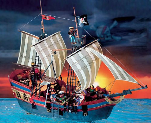 bateau pirate playmobil les bons plans de micromonde. Black Bedroom Furniture Sets. Home Design Ideas