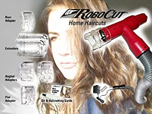 Robocut Model-r28 Vacuum Haircutter, Red: Amazon.co.uk: Beauty