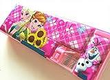 筆箱 アナ雪A 両面 鉛筆削 ペンケース Disney(ディズニー) 海外製