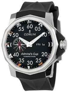 Corum Men's 947.931.04/0371 AN12 Admirals Cup Black Dial Watch