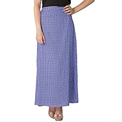 Instinct Women's Polyester Printed Skirts (AM020517_XL, Multi-Coloured, X-Large)