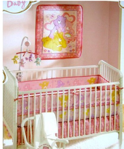 Low Price On Care Bears Crib Bedding Nursery Set New 2008