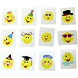 144 SMILEY TATTOOS