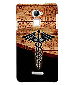 Doctor is my Profession 3D Hard Polycarbonate Designer Back Case Cover for Coolpad Note 3 Lite