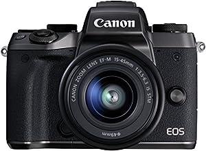 Canon EOS M5 - Cámara sin espejo de 24,2 MP (pantalla táctil de 3,2