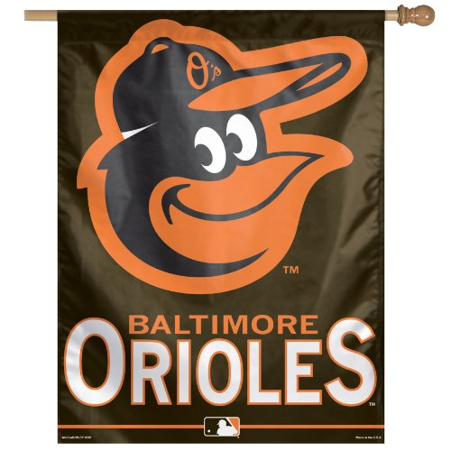 MLB Baltimore Orioles Vertical Flag (27-by-37-Inch)