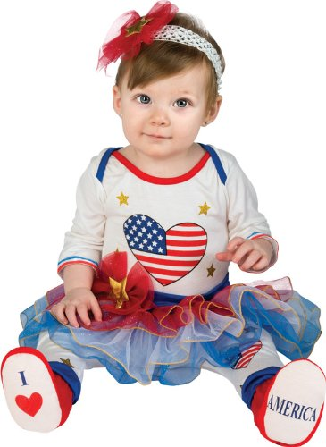 Rubie's Costume Baby's First Halloween Lil Firecracker Tutu Jumper With Leggings Headband and Booties, Multicolor, 6-12 Months - 1