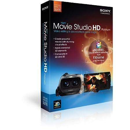 Sony Creative Software Vegas Movie Studio Visual Effects Suite