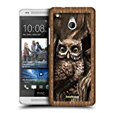 Head Case Designs Owl Shadow Box Protective Snap-on Hard Back Case Cover for HTC One mini