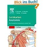 Lernkarten Anatomie: Die komplette Anatomie in einem Set