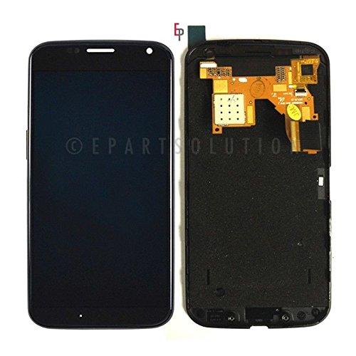 Epartsolution-Oem Motorola Moto X Xt1060 Xt1058 Xt1056 Xt1053 Lcd Display Touch Screen Digitizer Front + Frame Assembly Black Replacement Part Usa Seller