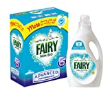 Fairy Non Bio 90 Wash Advanced Performance Powder + 83 Wash Fabric Softener - Fairy Value Pack