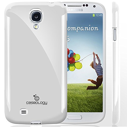 Galaxy S4 Case, Caseology [Drop Protection] Samsung Galaxy S4 Case [White] Slim Fit Tpu Cover [Shock Absorbent] Armor Bumper Galaxy S4 Case (For Samsung Galaxy S4 Verizon, At&T Sprint, T-Mobile, Unlocked) front-542702