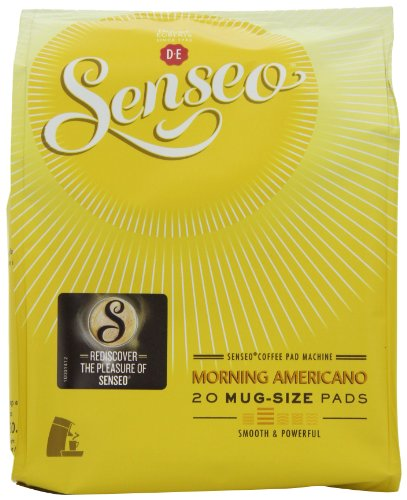 Douwe Egberts Senseo Morning Americano Coffee 20 Pods (Pack of 5, Total 100 Pods)