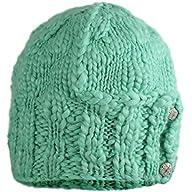 FU-R Headwear - Women's Vervain, Hand Knit Chunky Beanie