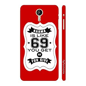 Enthopia Designer Hardshell Case Karma is like 69 - Red Back Cover for LeTV Le One Pro
