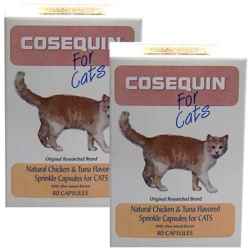 2 pack cosequin for cats 80 count 160 capsules home and garden. Black Bedroom Furniture Sets. Home Design Ideas
