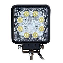 See KLM 24W 8LEDS Square Super Duty High Powered LED Spot light Details