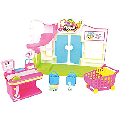 Shopkins Small Mart Supermarket Exclusive 6 figure playset by Moose Toys