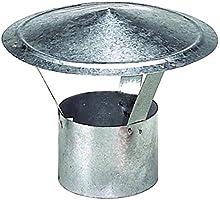 Wolfpack 22010066 - Sombrero para estufa (galvanizado, 120 mm)