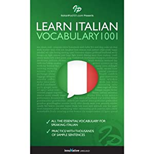 Learn Italian - Word Power 1001 | [Innovative Language Learning]