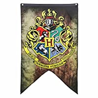 "Harry Potter - Hogwarts Wall Banner - 30"" x 50"" from Calhoun Sportswear"