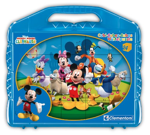Clementoni Puzzle cubes 24 cubes : Mickey Mouse Club House