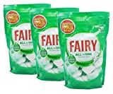 Fairy All in One Original Dishwasher Tablets With Liquid Power - 3 x 26 Pack (78 Tabs)