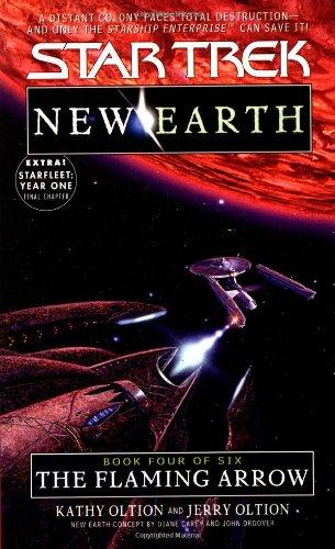 The Flaming Arrow (Star Trek: New Earth, Book 4)