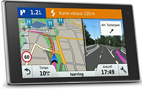 Garmin DriveLuxe 50 Cartes, Trafic, zones danger à vie (LMT)