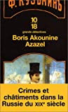 echange, troc Boris Akounine - Azazel