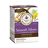 Traditional Medicinals Smooth Move Chocolate Tea - Naturally Caffeine Free - 16 Bags