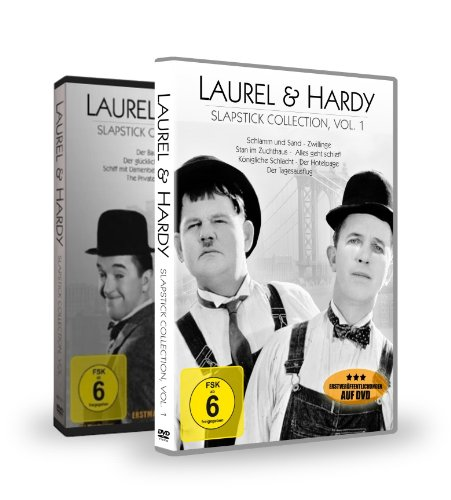 Laurel & Hardy Collection 1 + 2 Package [2 DVDs]
