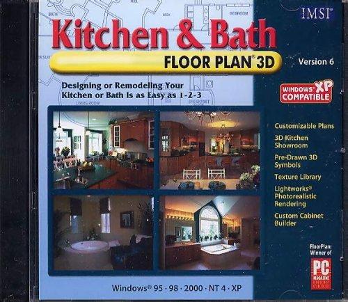 Kitchen & Bath FloorPlan 3D