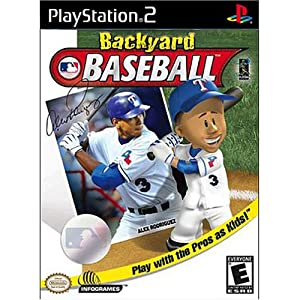 backyard baseball playstation 2 artist not provided video games
