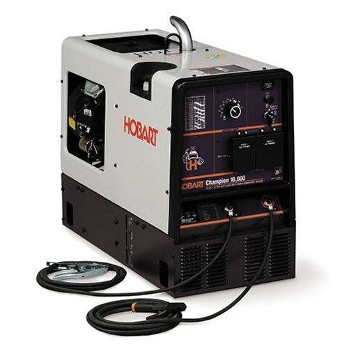 Hobart 500434 Champion 10,000 All-in-One 10,000-Watt AC Generator and DC Welder with Kohler Engine